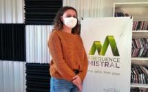 Charlène Rock est en stage à Fréquence Mistral…