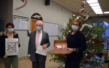 Sisteron met Noël en boîtes…