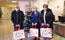 Manosque : des colis de Noël pour les personnes âgées