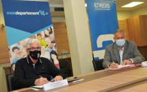Transition énergétique : Le conseil départemental partenaire d'ENEDIS