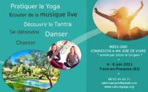 Stage yoga et musique à Trans-en-Provence