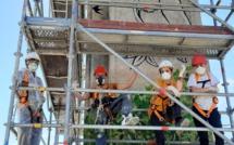 Un chantier éducatif de l'ADSEA 04 à Manosque