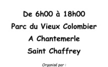 Un vide grenier organisé à saint Chaffrey