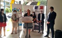 renouvellement urbain, la ministre Nadia Hai à Manosque
