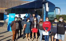 A Carmejane, des lycéens de 16 et 17 ans  ont bénéficié d'une injection grace au vaccinobus