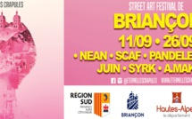 A la rencontre des artistes du festival de street art à Briançon !