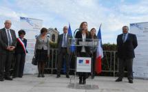 Secrétaire d'Etat chargée du Numérique, Axelle Lemaire était dans les Hautes-Alpes vendredi