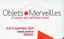 La chambre de métiers et de l'artisanat 04 organise son premier salon des Métiers d'Art !