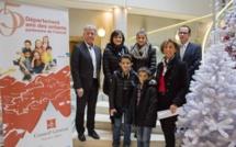 Un des lauréats du concours sur les droits de l'enfant dans le 05 originaire de la Bâtie Neuve.