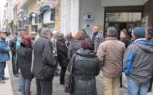 La CGT a manifesté hier à Digne contre la loi Macron.