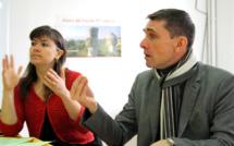 Sandrine Cosserat et Claude Fiaert, unis pour faire bouger les lignes !