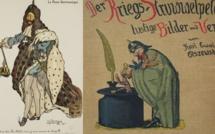 Des caricatures françaises et allemandes sont exposées au Musée Muséum de Gap !
