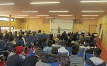 Le lycée Alexandra David-Néel s'est mobilisé sur le sidaction.
