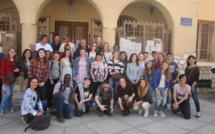 Sainte-Tulle accueille des collégiens américains