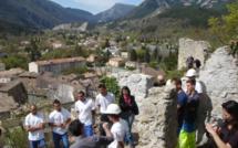 Le chantier-école du patrimoine des Jardins de la Tour a été inauguré à Castellane