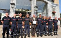 La Ville de Sisteron a été primée pour ses efforts pour la sécurité civile !