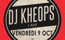 DJ Khéops d'IAM en résidence ce soir à la discothèque La Garenne  à Gap