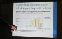 """""""Manger bio c'est bon pour l'eau"""" au programme d'une conférence d'Agribio 04"""