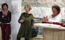 L'office de tourisme de Forcalquier expose les artistes de l'Artothèque
