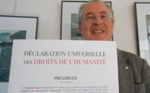 Philippe Courbon, un humaniste d'ici pour la Journée des Droits de l'Homme partout