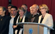 Patricia Granet a présenté ses vœux aux Dignois.