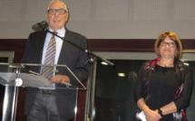 Ville de Manosque et DLVA Bernard Jeanmet présente ses voeux aux agents