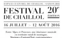 Festival de Chaillol du 16 Juillet au 12 aout